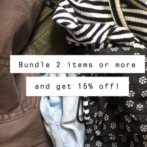 Bundle your likes 2 or more and get 15% off!